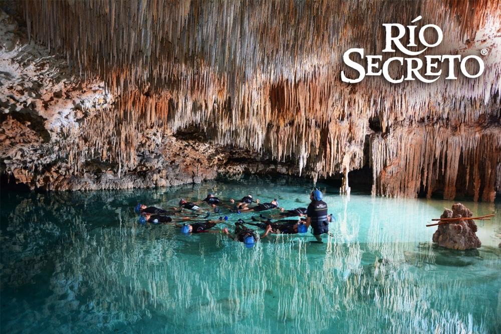 Río Secreto from Riviera
